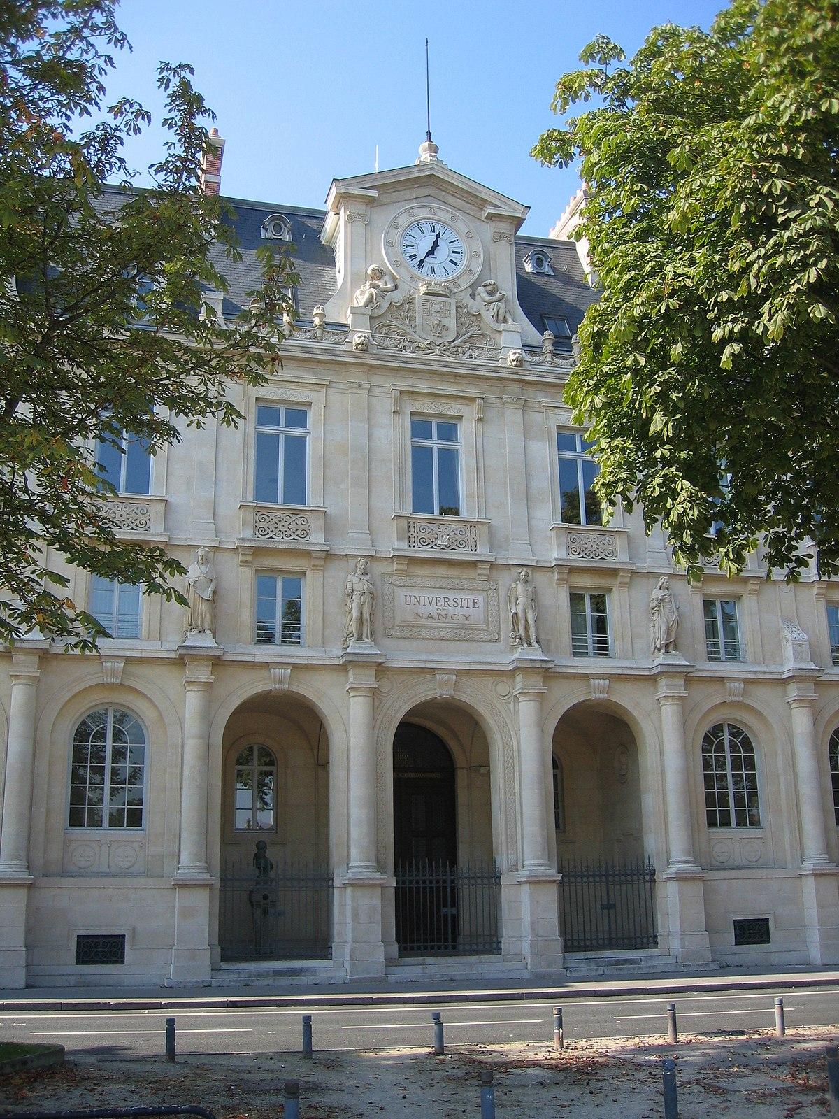 Nancy 2 University Wikipedia