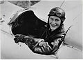 Nancy Bird in Gipsy Moth at Kingsford Smith Flying School, 1933.jpg