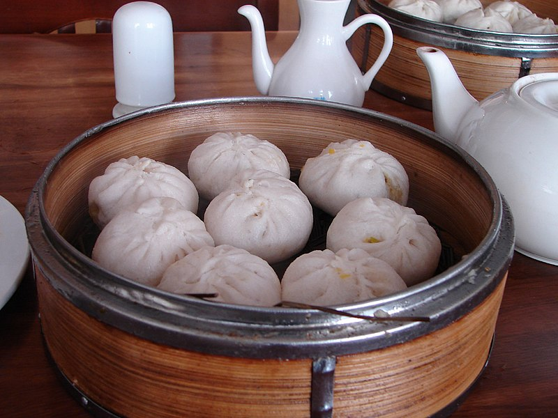 Steamed stuffed buns