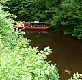 Narrow boat at the back of the castle - panoramio.jpg