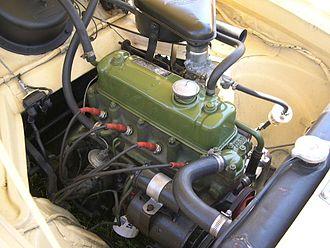 BMC B-series engine - B-series 1500 engine in a Nash Metropolitan Series 3