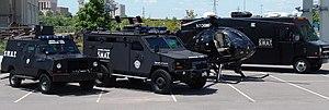 Metropolitan Nashville Police Department - Nashville SWAT Vehicles