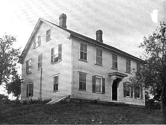 Coventry, Rhode Island - General Nathanael Greene Homestead pictured in 1902