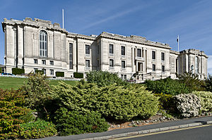 National Library of Wales - The National Library of Wales, Aberystwyth