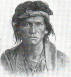 Outline of Colorado prehistory - Image: Navaho American Indian Mongoloid