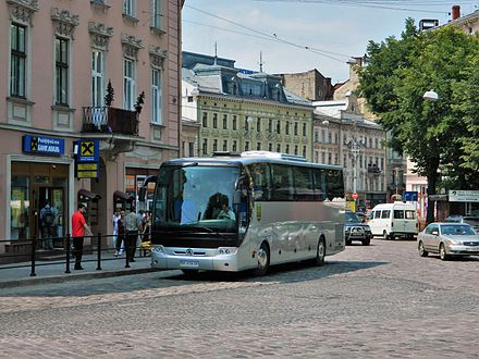 """NeoLAZ-Lemberg"" - product of the Lviv Bus Factory on the streets of Lviv NeoLAZ-5208 Lviv.jpg"