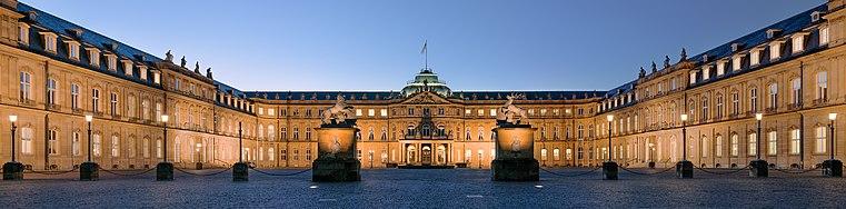 Neues Schloss (new palace) (Schlossplatz, Stuttgart, Germany).