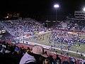 Nevada Celebrating WAC Championship, University of Nevada Wolf Pack 38, Fresno State University Bulldogs 35, Mackay Stadium, Reno, Nevada (69511894).jpg