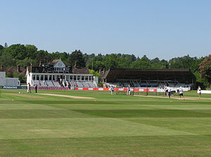 English: Tunbridge Wells: the Nevill Ground Th...