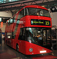 New Bus for London mock up MN0123 (BU12 HHJ), London Transport Museum, 28 March 2011 (1).jpg
