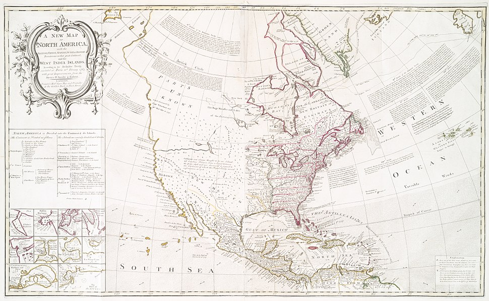 New Map of North America (1763)