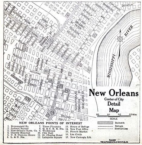 French Market New Orleans Map.File New Orleans Quarter Cbd 1920 Map Jpg Wikimedia Commons