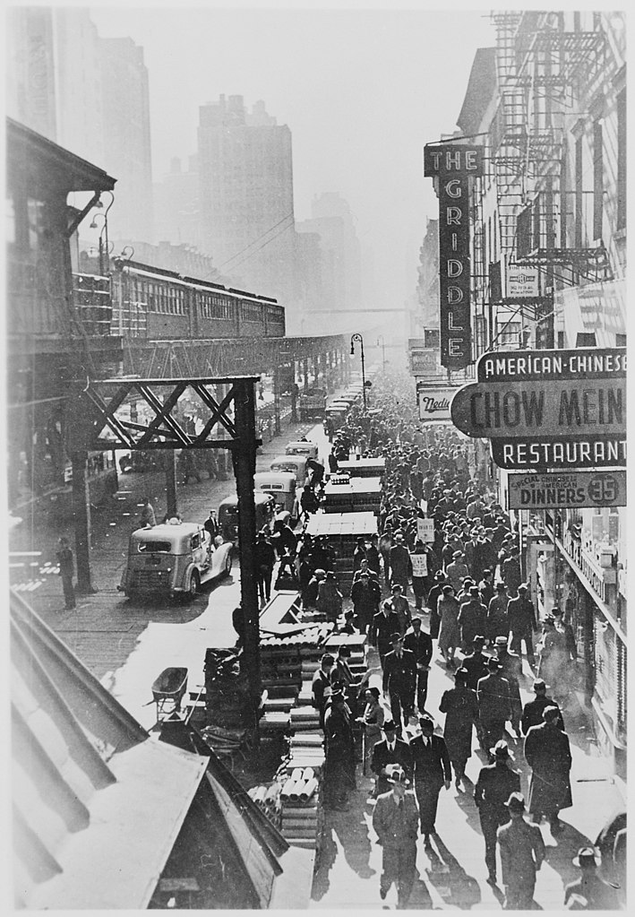 File New York City S Sixth Avenue Elevated Railway And The