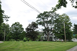 National Register of Historic Places listings in Orange County, Vermont - Image: Newbury VT Bayley HD 1