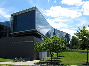 S. I. Newhouse School of Public Communications - Image: Newhouse School Syracuse Univ 2014