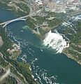 Niagara Falls from air American side 2009.jpg