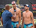 Nick Lucena and Phil Dalhausser at the AVP Austin Open 2017 (2).jpg