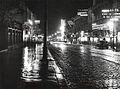Nicolae Ionescu - The Queen Elisabeta Avenue in 1932.jpg