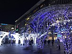 Night view in front of Hakata Station 20180102-1.jpg