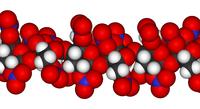 Пироксилин: вид молекулы