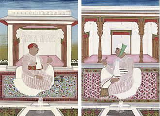 Mir Akbar Ali Khan Sikander Jah, Asaf Jah III - Image: Nizam Sikandar Jah (r.1803 29)