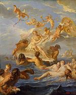 Noël-Nicolas Coypel - Birth of Venus - WGA05593.jpg