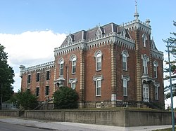 Noble County Sheriff's House and Jail - Wikipedia