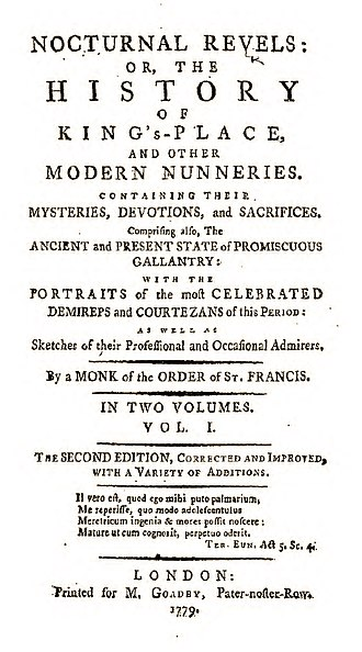 Nocturnal Revels - Nocturnal Revels title page