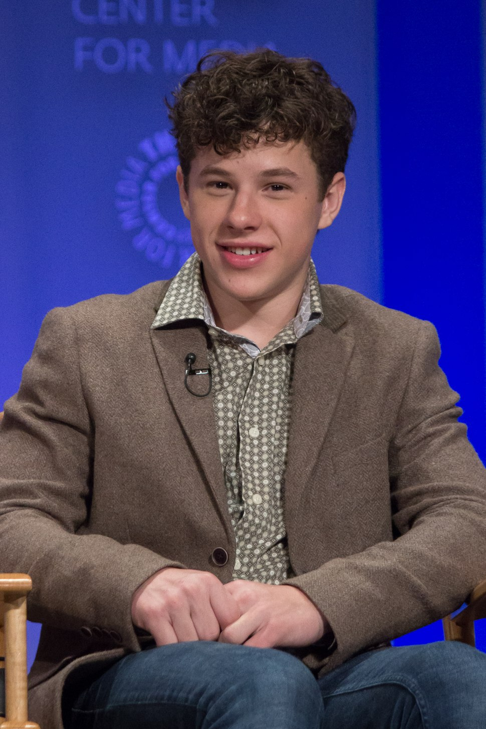 Nolan Gould at 2015 PaleyFest