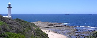 Norah Head, New South Wales - Image: Norah head lighthouse wide view