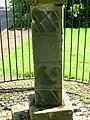 North facing side - West Kilbride Scottish Sundial.JPG