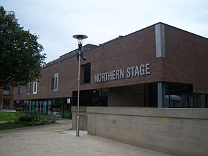 Northern Stage, Newcastle upon Tyne - Northern Stage Building, viewed from Kings Gate Building