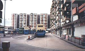 North Point - North Point Estate in North Point that was demolished in 2003.