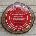 Norton Fitzwarren Rail Disasters plaque.JPG
