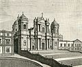 Noto cattedrale di San Nicolò di Mira (xilografia di Barberis 1892).jpg