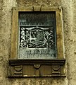 Novi Sad, Petrovaradin, kostel svatého Jurija, deska krále Tomislava.jpg