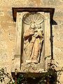 Noyers-sur-Serein - Porte de Tonnerre - Vierge a l'enfant bourguignonne.jpg