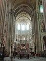 Noyon (60), cathédrale Notre-Dame, croisée du transept, vue vers l'est 2.jpg