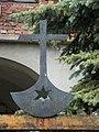 Oświęcim - Obóz koncentacyjny Auschwitz, budynkek na terenie Miejsca Pamięci i Muzeum Auschwitz-Birkenau, detal AL02.JPG