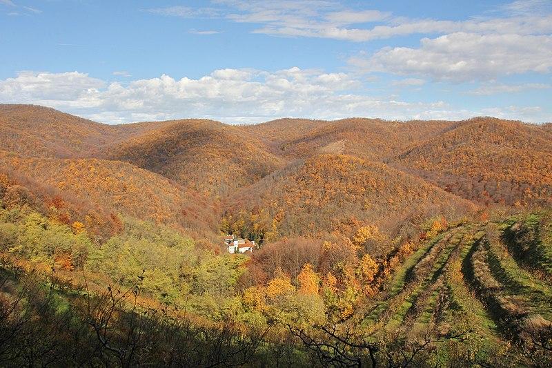 File:Obronci planine Rudnik - manastir Vracevsnica.jpg