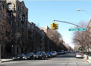 Ocean Avenue (Brooklyn) - At Beverley Road