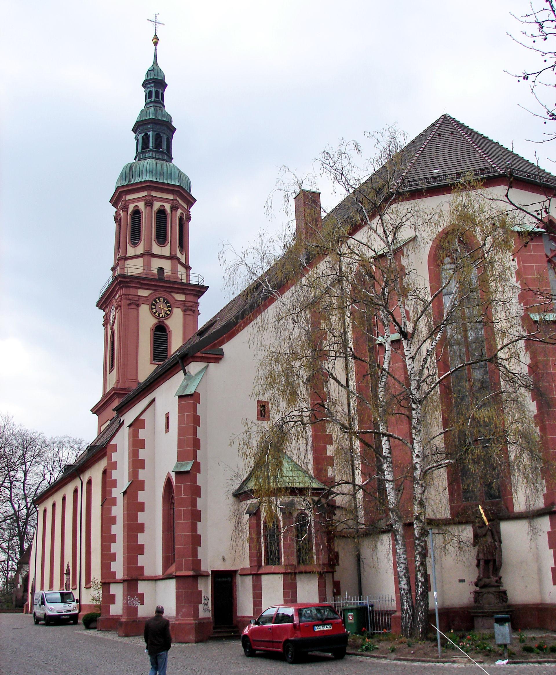 Heilig-Kreuz-Kirche (Offenburg) - Wikipedia