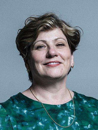 Shadow Foreign Secretary - Image: Official portrait of Emily Thornberry crop 2