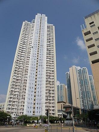 Public housing estates in Shau Kei Wan - Oi Tung Estate