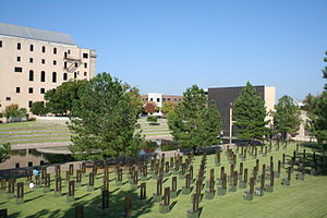 Symbolism of terrorism - Oklahoma City National Memorial
