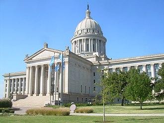 Oklahoma Legislature - Image: Oklahoma State Capitol