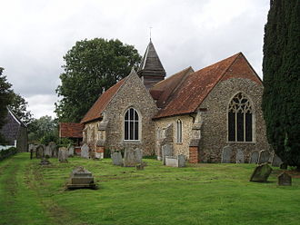 West Bergholt - Old St Mary's Church, West Bergholt.