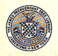 Old James Prendergast Library Association Seal.jpg