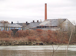 Abandoned factory along the Allegheny River