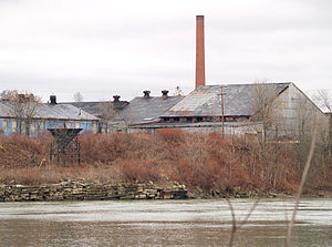 Arnold, Pennsylvania - Abandoned factory along the Allegheny River